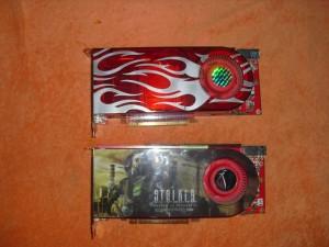 Egy asus és egy Sapphire Radeon HD2900XT