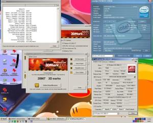 5040MHz-en a 3Dmark2001