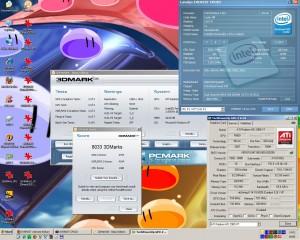 5040MHz és a 3Dmark2006