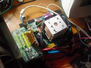 A sok CPU-t hűtött EKL réz hűtés