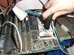 A 15éves CPU csak úgy visít a tuning hatásától