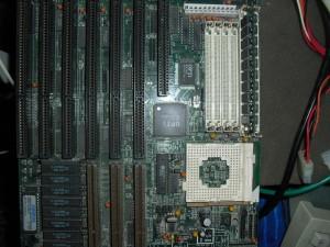 korai Socket3-as csoda 486-os
