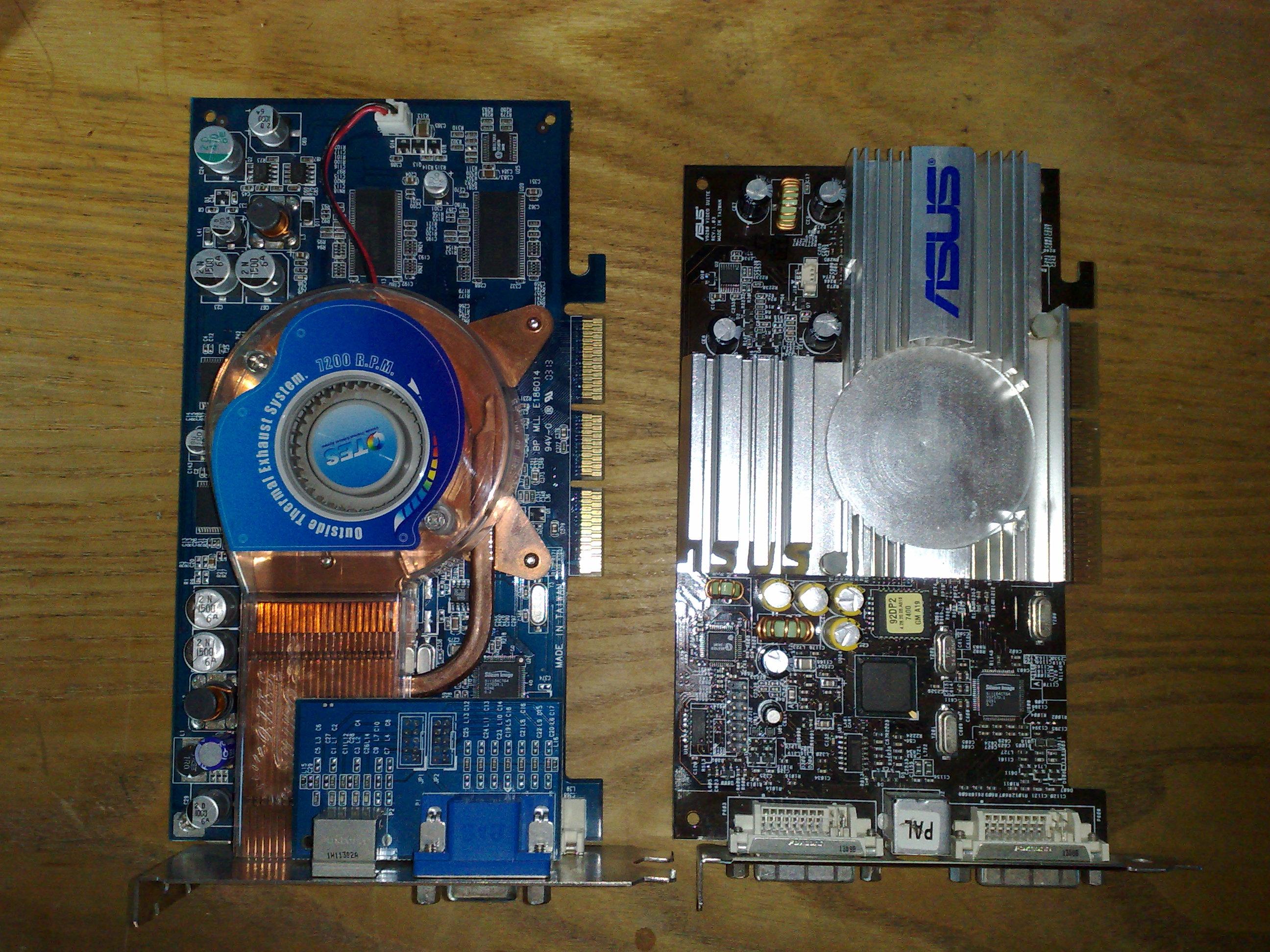 Ti4200 a Ti4200 ellen