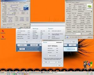 1660MHz-en a 3Dmark2006