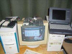 486-os és Pentium desktop gépek