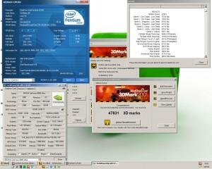 3250MHz-en a 3Dmark2001