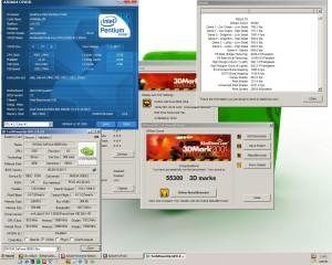 4000MHz-en a 3Dmark2001