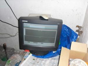 Monitor elhelyezve
