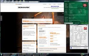 3300MHz-en a 3Dmark2011