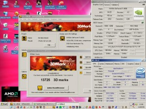 3Dmark2001 a Geforce4 TI4600-al