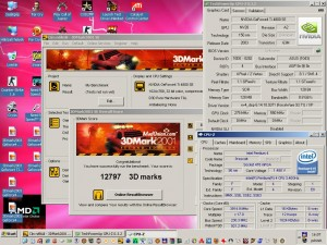 3Dmark2001 a Geforce4 TI4800SE-vel