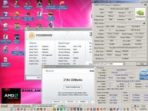 3Dmark2003 a Geforce4 TI4600-al