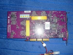 PNY Geforce4 TI4600 hátulja