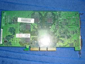 Asus Geforce4 TI4800SE hátulja
