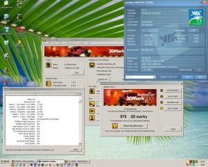 1000MHz, CL2 3Dmark2001