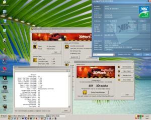 1000MHz-en a 3Dmark2001
