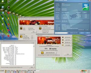 1540MHz 3Dmark2001