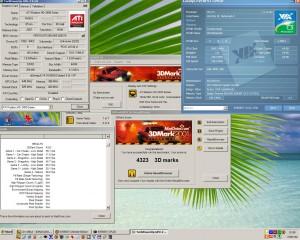 1540MHz Ati Radeon HD2400PRO-val a 3Dmark2001 radeon