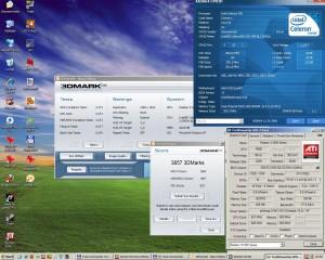 2000MHz-en a 3Dmark2006