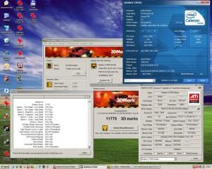 3125MHz-en a 3Dmark2001
