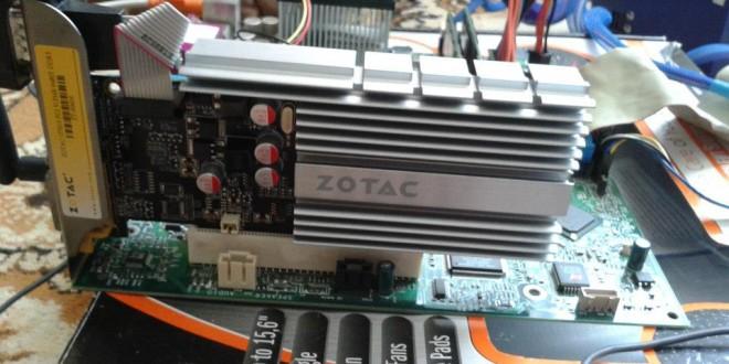 GT610: a PCI-os szörnyeteg