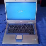 kinyitva a Dell Inspriron 8500