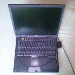 Dell Inspiron 8100 kinyitva
