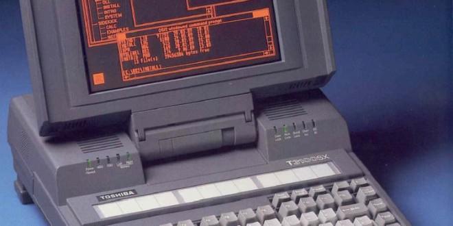 Toshiba T3100SX, avagy egy 386-os laptop harca a túlélésért.