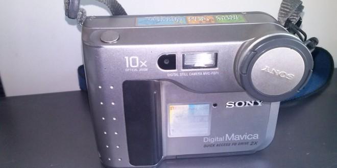 Sony Mavica MVC-FD71: A digitális fényképezés kezdete