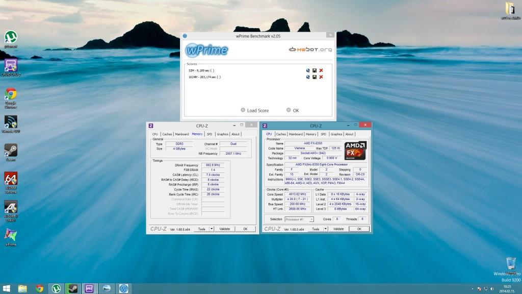 FX8350 4000Mhz
