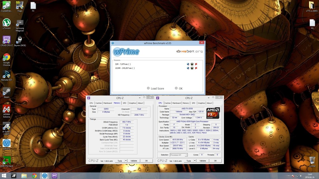 FX8350 4500Mhz