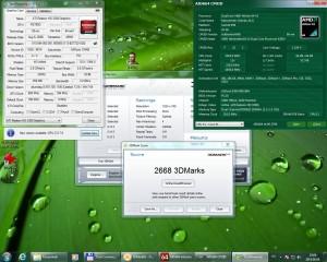 3Dmark03 4200+ 2310MHz 420MHz DDR 1,05GHz HT IGP 700MHz