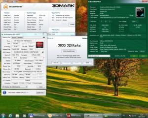 3Dmark03 4200+ 2400MHz 480MHz DDR 1,5GHz HT IGP 1000MHz