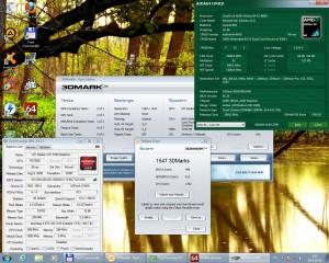 3Dmark06 4200+ 2400MHz 480MHz DDR 1,5GHz HT IGP 1000MHz