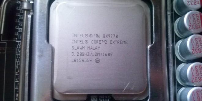 Extrém teljesítmény Extreme CPU-val