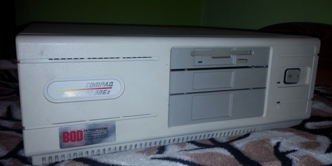 Compaq Deskpro 386s újraélesztése