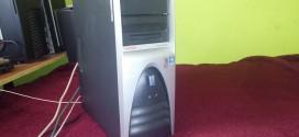 Compaq W6000 azaz Workstation a Netburst hajnalából