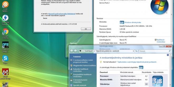Pentium 4-es PC-re milyen OS-t?