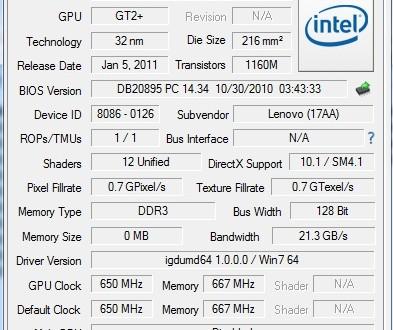 Intel HD Graphics 3000 játékos szemmel