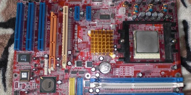 Biostar K8T890-A9 alaplap és a benne lévő CPU bemutatója