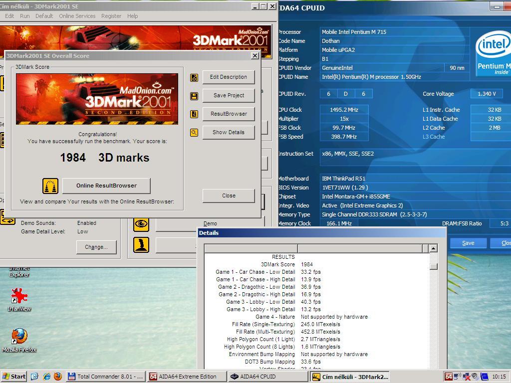 pentiumm3dmark2001s