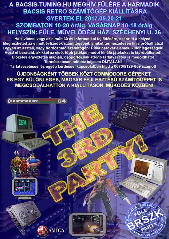 3. Számítógép kiállítás! (BRSZK Party)