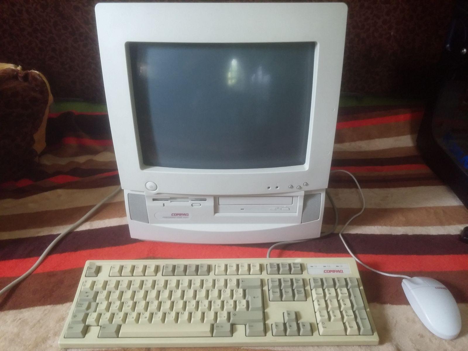 Compaq presario CDS 520 a praktikus retro gép