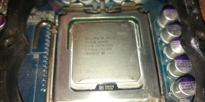 Xeon X5270 tuning: Nem rossz, de többet vártam