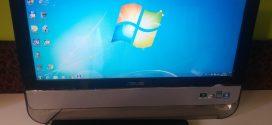 Asus Eee Top PC: kaki arany celofánba csomagolva