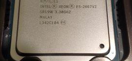 Xeon E2667 V2: Amikor beszív a 8mag varázsa