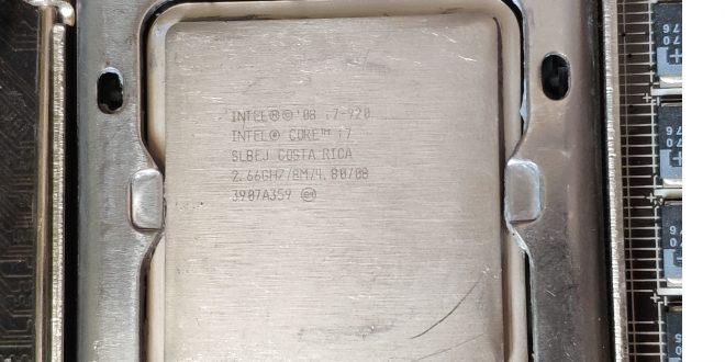 Az ezer forintos Core i7 CPU tesztje